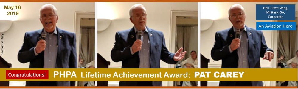 PAT CAREY RECEIVES LIFETIME ACHIEVEMENT AWARD