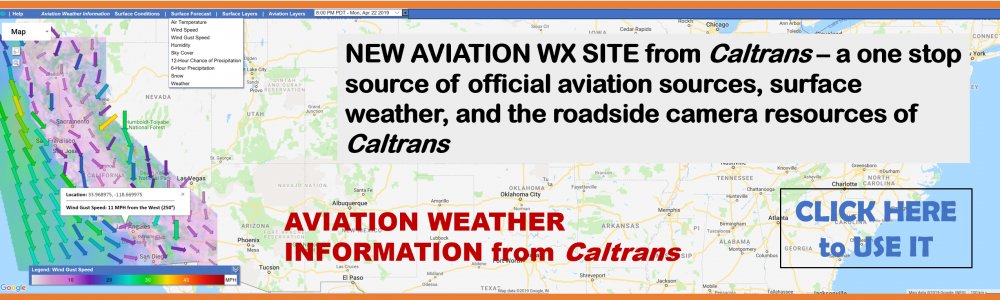 CALTRANS AVIATION WEATHER INFORAMTION