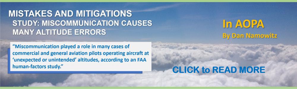 FAA HUMANFACTORS STUDY