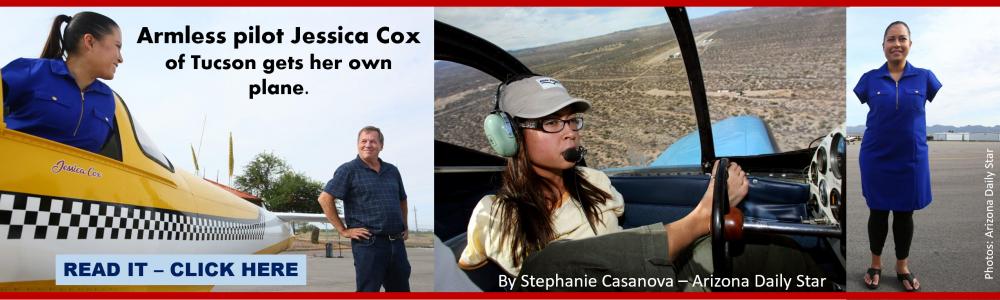 JESSICA COX ARMLESS PILOT